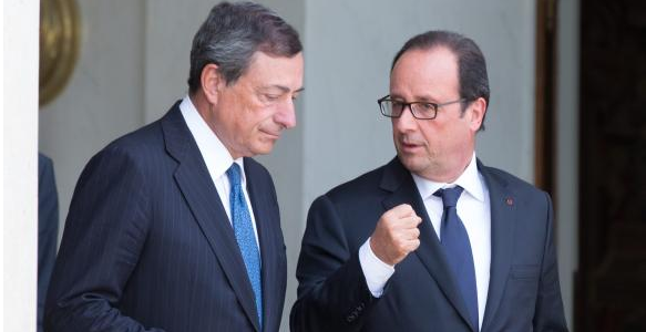 Hollande and Draghi