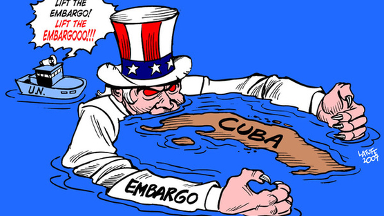 US embargo on Cuba